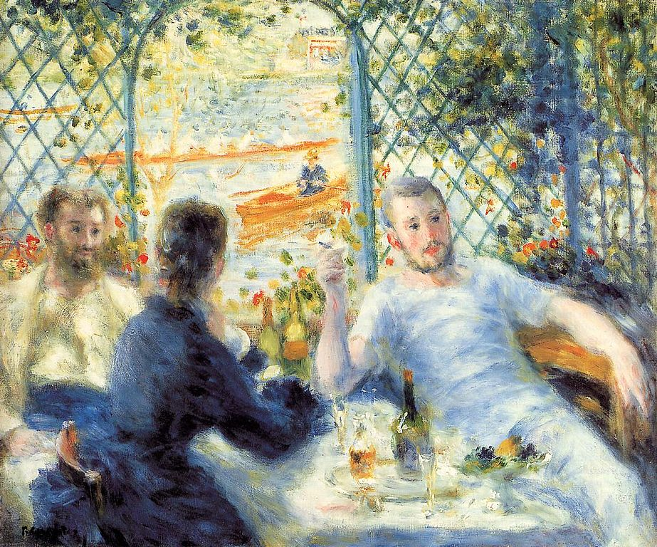 Startup pitch to a developer on a San Francisco morning Pierre-Auguste Renoir Source